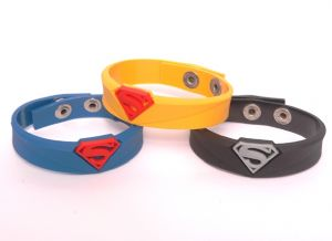 Super Hero Wristband Bracelet 3 Color Good Quality 1